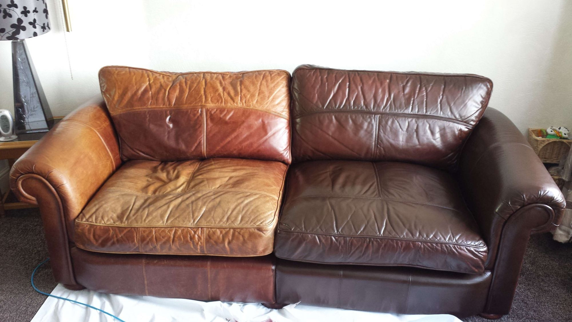 Attrayant Leather Sofa Repair Company