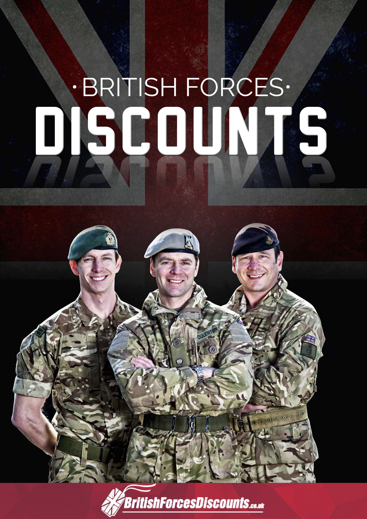 Discounts for British armed forces from Complete Furniture Services in Bristol